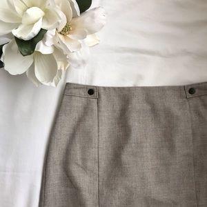 Short Grey Skirt